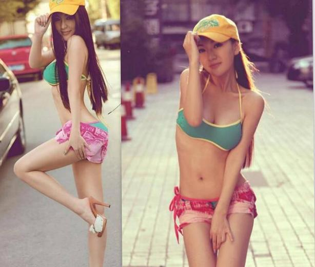 18-year-old sweet Chinese little girl, 45kg,34C/D-23-33,hot looking girl